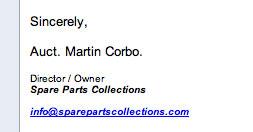 martin corbo signature